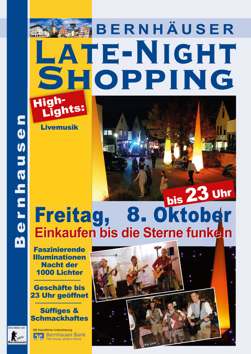 Bernhausen Late Night Shopping 2019